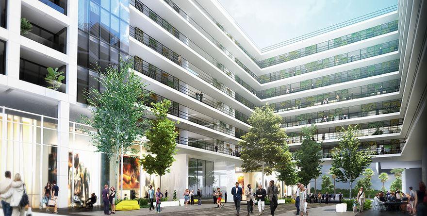 פרויקט דה וינצ'י משרדים | קנדה ישראל - ברק רוזן