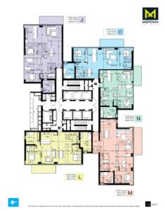 דירת 4 חדרים במידטאון / ברק רוזן